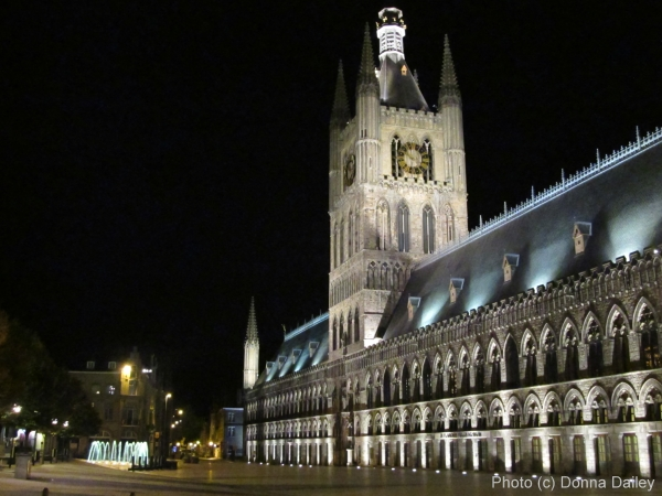 The Cloth Hall at Ypres