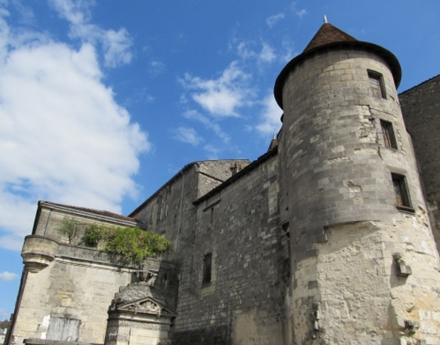 The Chateau de Cognac in Cognac, France