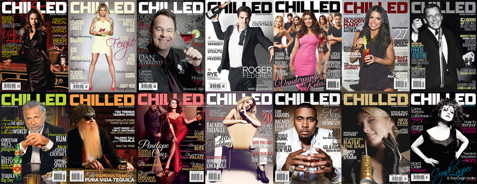 Chilled drinks magazine covers