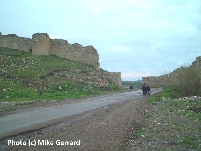 On the road to Agdam in Nagorno-Karabakh