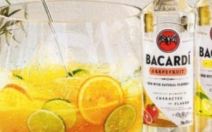 Bacardi Rum Cocktails with a Punch