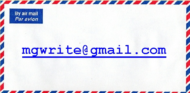 airmail envelope+email address
