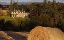View of the Ballathie House country house hotel in Perthshire, Scotland