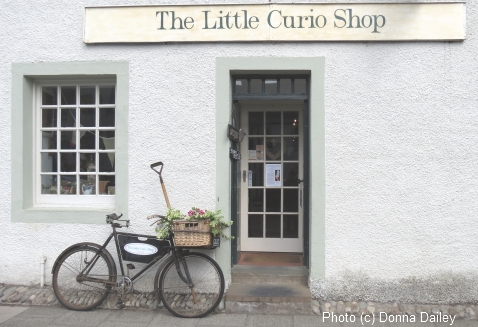 The Little Curio Shop in Dunkeld, Scotland
