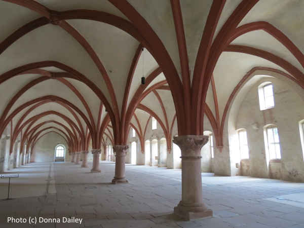 The Eberbach Monastery in German