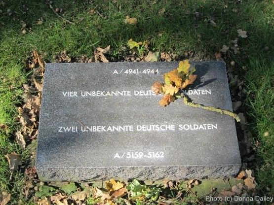 The Langemark German War Cemetery near Ypres