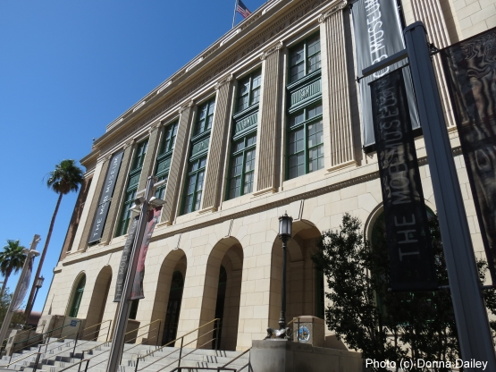 The Mob Museum in Las Vegas, Nevada