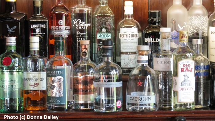 The Bar at the Roxburghe Country House Hotel near Kelso in the Scottish Borders