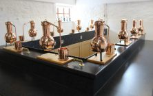 The stills at Jamie Baxter's Gin School