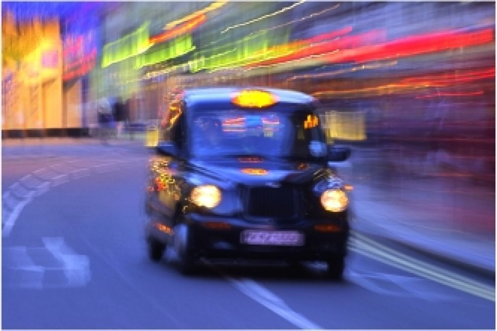 London-taxi-blurred-colourful-shot-free-clip-art