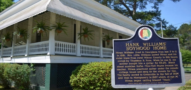 Hank-Williams-boyhood-home