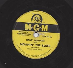 Hank_Williams_MGM_78_label