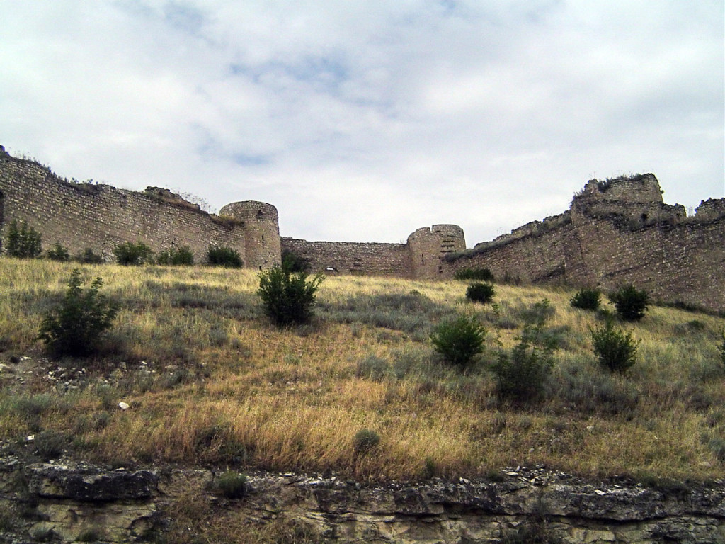 The Askeran Fortress in Nagorno-Karabakh