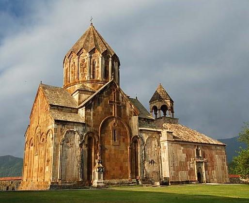 The Monastery at Gandzasar in Nagorno-Karabakh