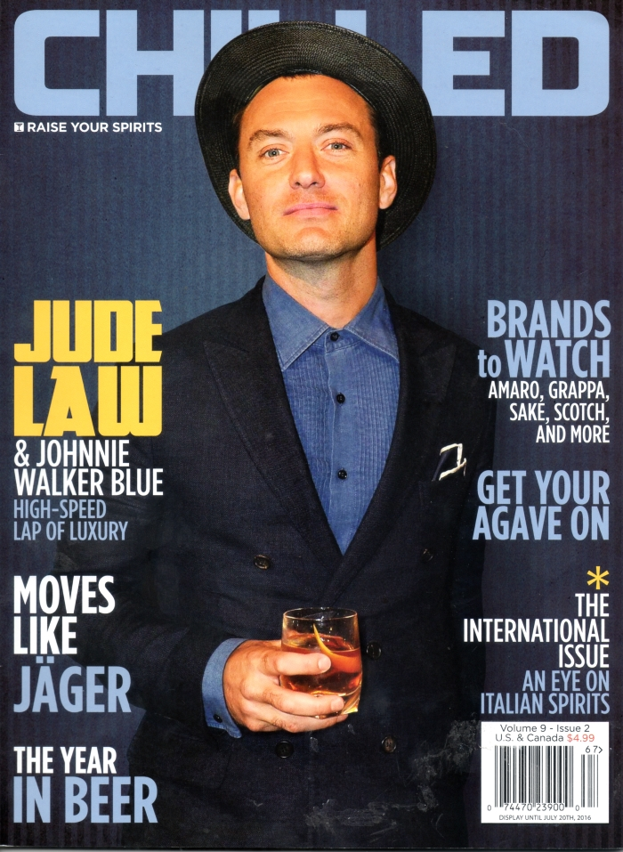 Chilled Volume 9 Issue 2 Jude Law cover