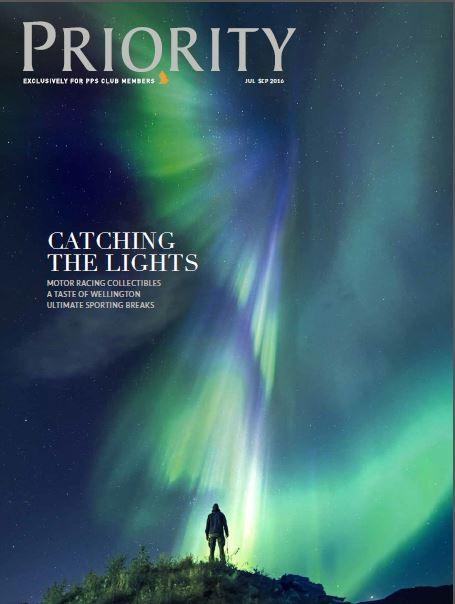 Priority Magazine Ultimate Sporting Breaks Cover