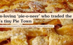 Link to Pie Town feature on roadtrippers.com